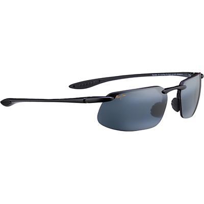 Maui Jim Kanaha Polarized Sunglasses - Universal Fit - Gloss Black/Neutral Grey