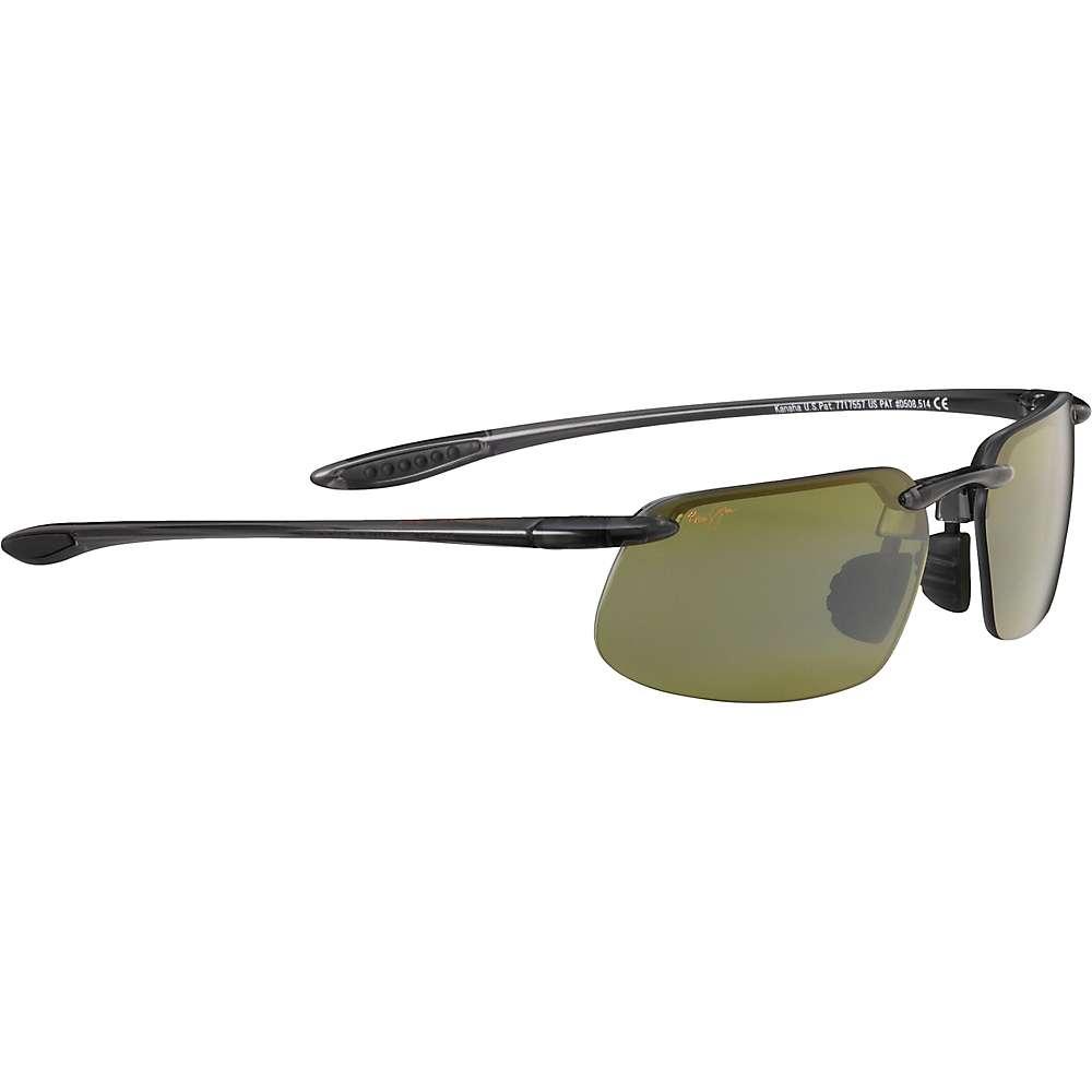 Maui Jim Kanaha Polarized Sunglasses - Universal Fit - One Size - Smoke Grey/Maui HT