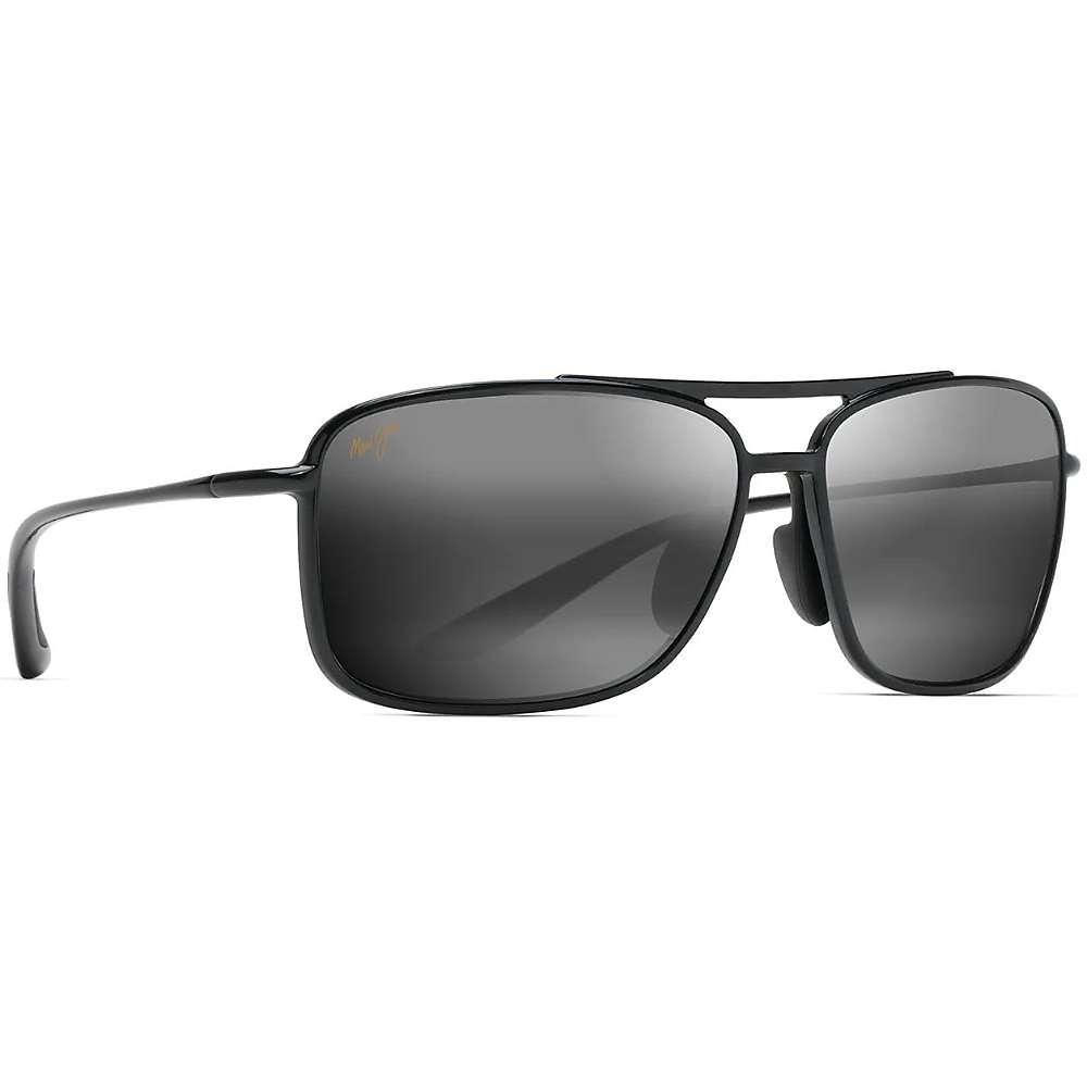 Maui Jim Kaupo Gap Polarized Sunglasses - One Size - Gloss Black/Neutral Grey