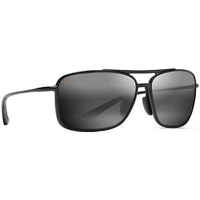 Maui Jim Kaupo Gap Polarized Sunglasses - Gloss Black/Neutral Grey