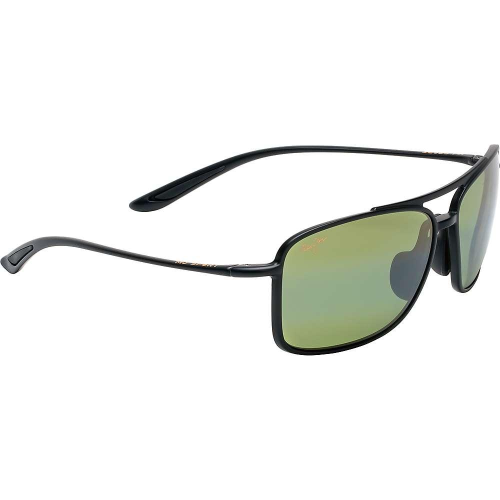 Maui Jim Kaupo Gap Polarized Sunglasses - One Size - Matte Black/Maui HT