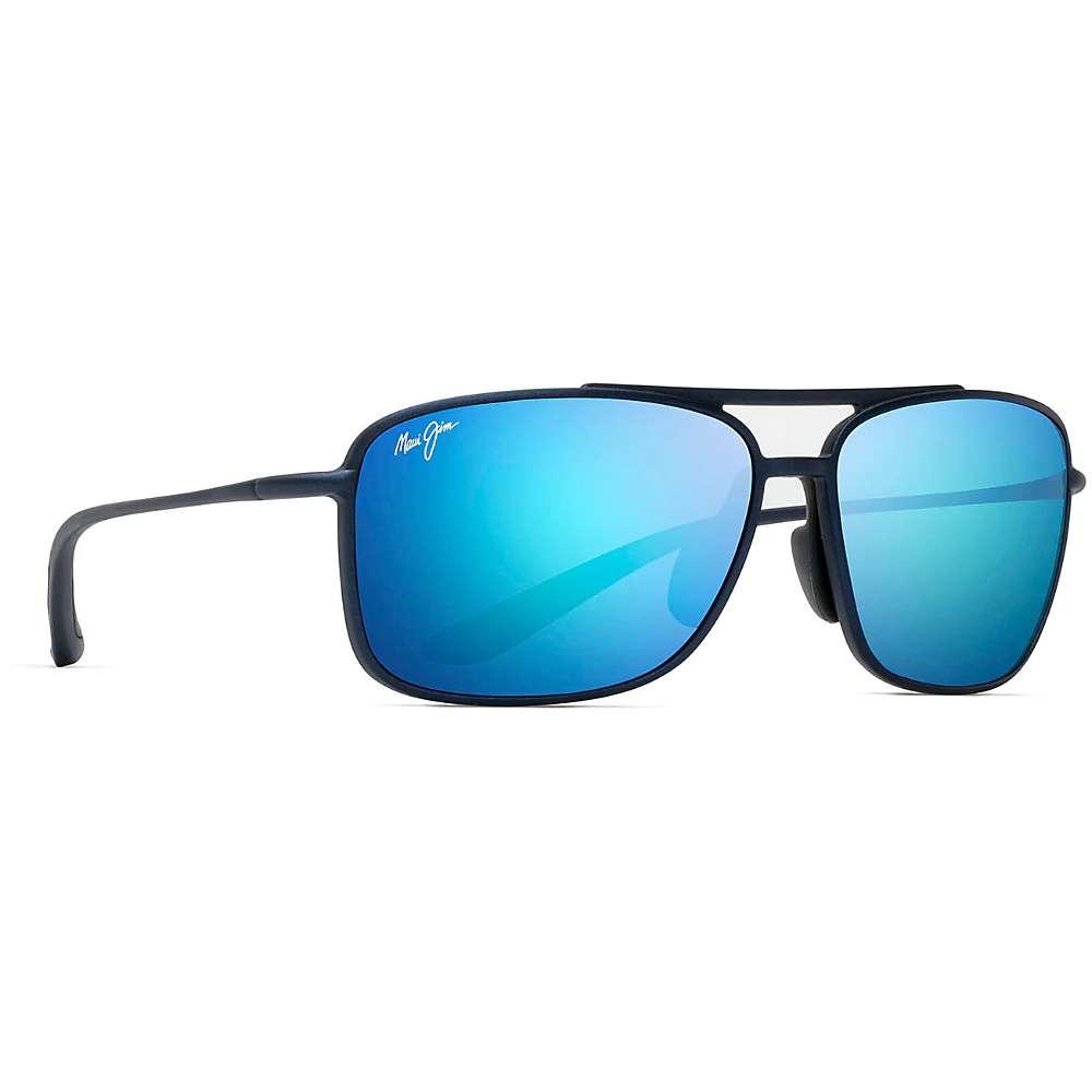 Maui Jim Kaupo Gap Polarized Sunglasses - One Size - Matte Blue/Blue Hawaii
