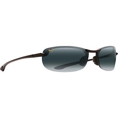Maui Jim Makaha Reader Sunglasses - Universal Fit - Gloss Black/Neutral Grey