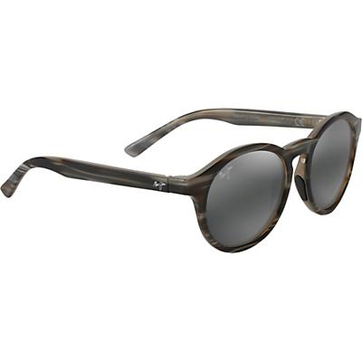Maui Jim Pineapple Polarized Sunglasses - Slate Grey and Brown Stripe/Neutral Grey