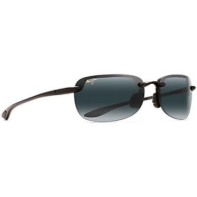 Maui Jim Sandy Beach Polarized Sunglasses - Universal Fit - Gloss Black/Neutral Grey