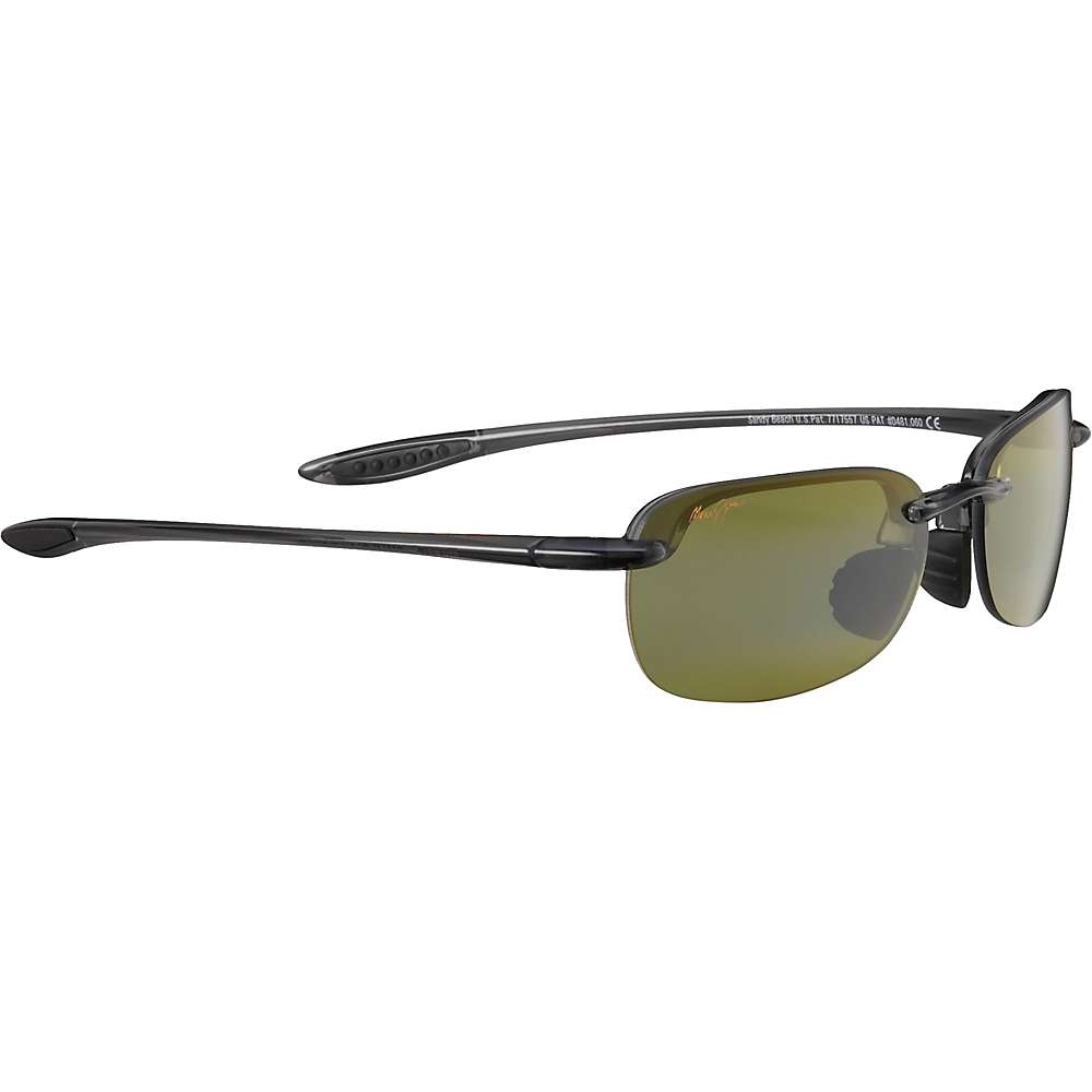 Maui Jim Sandy Beach Polarized Sunglasses - Universal Fit - One Size - Smoke Grey/Maui HT