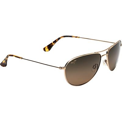 Maui Jim Sea House Polarized Sunglasses - Gold/HCL Bronze