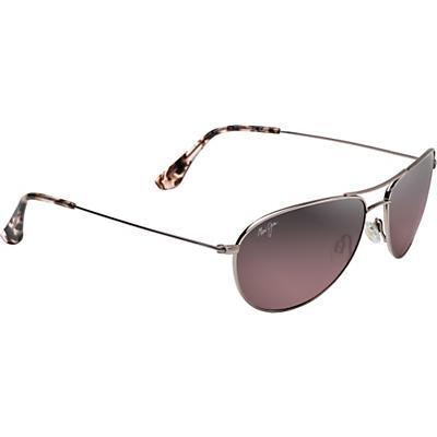 Maui Jim Sea House Polarized Sunglasses - Rose Gold/Maui Rose