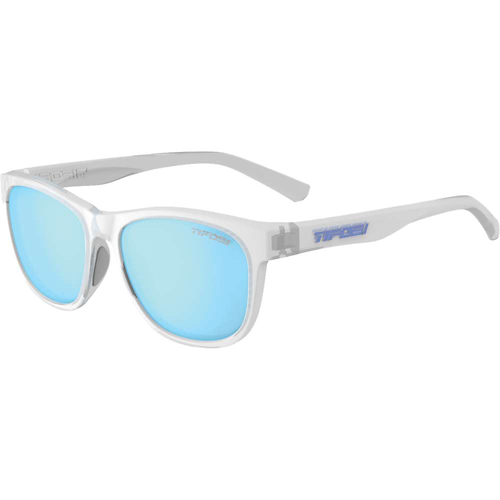 Tifosi Swank Polarized Sunglasses - One Size - Satin Clear