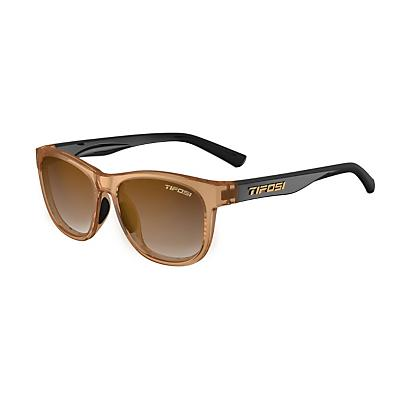 Tifosi Swank Sunglasses - Crystal Brown / Onyx/Brown Gradient
