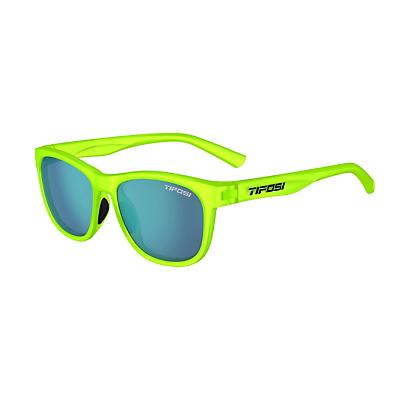 Tifosi Swank Sunglasses - Satin Electric Green/Smoke Bright Blue