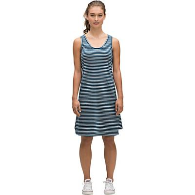 Nau Astir Tank Stripe Dress - Lagoon Stripe - Women
