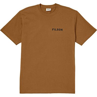 Filson Outfitter Graphic SS T-Shirt - Whiskey - Men