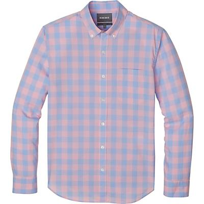 Bonobos Summer Weight Shirt Slim - Canyon Lake Gingham - Satchet Pink
