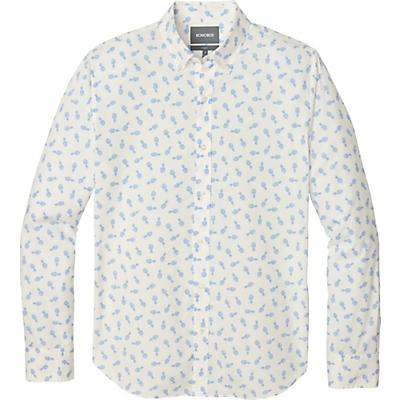 Bonobos Summer Weight Shirt Slim - Pineapple Stamp - Water Drop