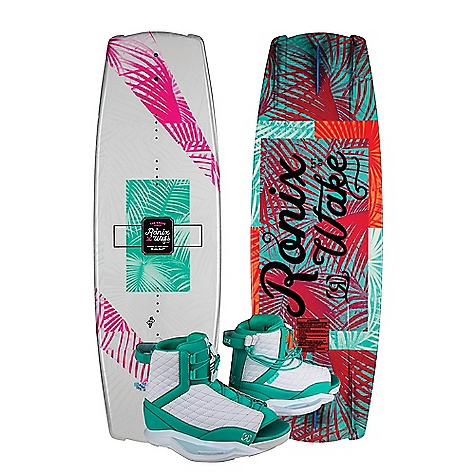 Ronix Women's Krush 134 Wakeboard - Luxe Boot Package