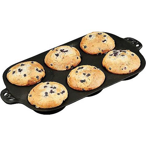 Camp Chef True Seasoned Cast Iron Muffin Pan