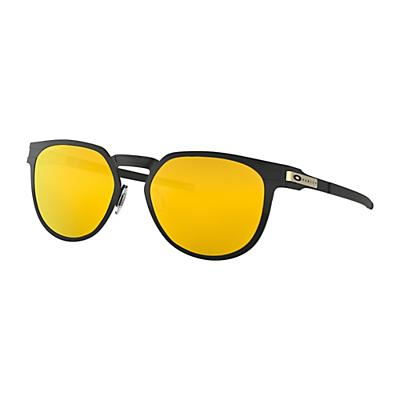 Oakley Diecutter Sunglasses - Satin Black / 24K Iridium