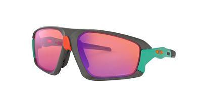 Oakley Field Jacket Sunglasses - One Size - Matte Dark Grey / PRIZM Trail