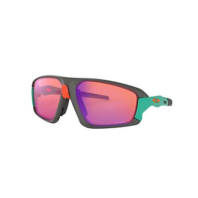 Oakley Field Jacket Sunglasses - Matte Dark Grey / PRIZM Trail