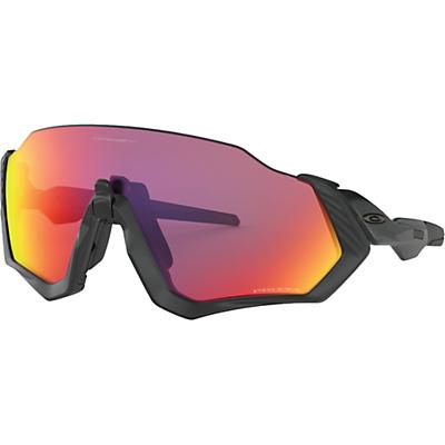 Oakley Flight Jacket Sunglasses - Matte Black / Black / Prizm Road