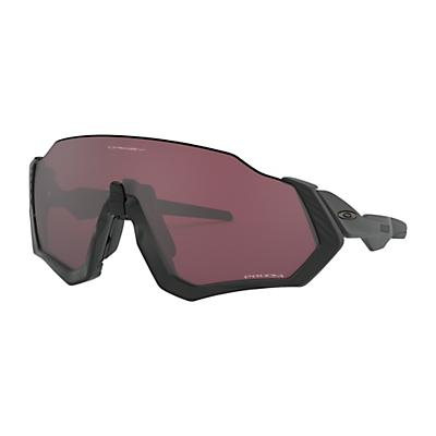 Oakley Flight Jacket Sunglasses - Matte Black/Prizm Black