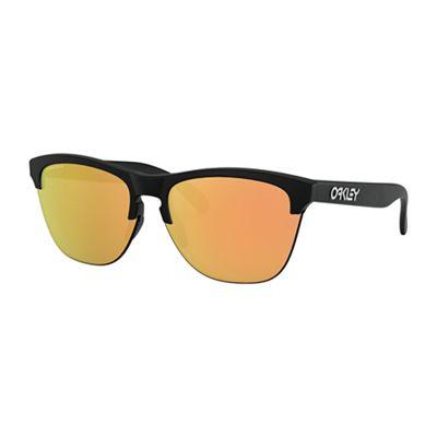 Oakley Frogskins Lite Sunglasses - One Size - Matte Black/PRIZM Rose Gold