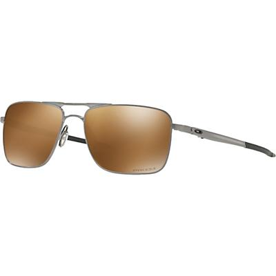 Oakley Gauge 6 Polarized Sunglasses - Satin Chrome / PRIZM Tungsten Polarized