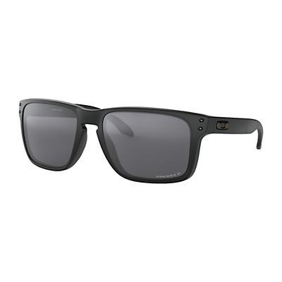 Oakley Holbrook XL Polarized Sunglasses - Matte Black / Prizm Black Polarized
