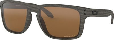 Oakley Holbrook XL Polarized Sunglasses - One Size - Woodgrain / PRIZM Tungsten Polarized