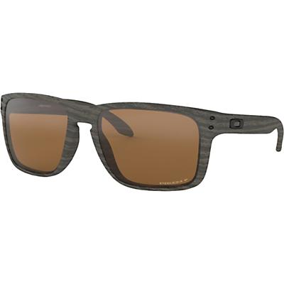 Oakley Holbrook XL Polarized Sunglasses - Woodgrain / Prizm Tungsten Polarized