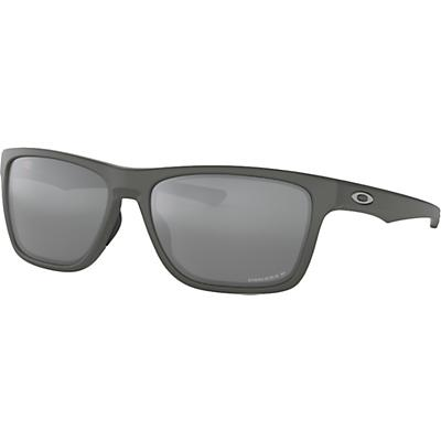 Oakley Holston Polarized Sunglasses - Matte Dark Grey / Prizm Black Polarized