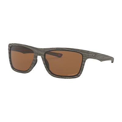 Oakley Holston Polarized Sunglasses - Woodgrain/Prizm Tungsten