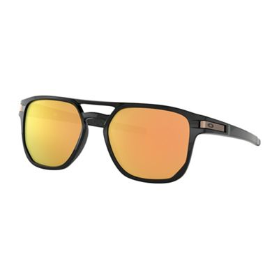 Oakley Latch Beta Sunglasses - One Size - Polished Black/PRIZM Rose Gold