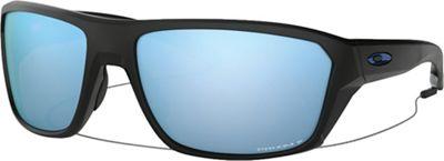 Oakley Split Shot Polarized Sunglasses - One Size - Matte Black / PRIZM Deep H2O Polarized