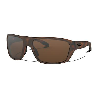 Oakley Split Shot Polarized Sunglasses - Matte Brown Tortoise / Prizm Tungsten Polarized