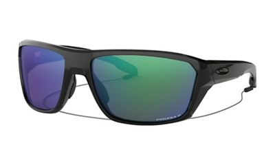Oakley Split Shot Polarized Sunglasses - One Size - Polished Black / PRIZM Shallow H2O Polarized