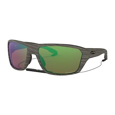 Oakley Split Shot Polarized Sunglasses - Woodgrain / Prizm Shadow H2O