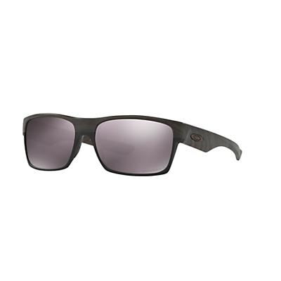 Oakley TwoFace Polarized Sunglasses - Woodgrain / Prizm Daily Polarized
