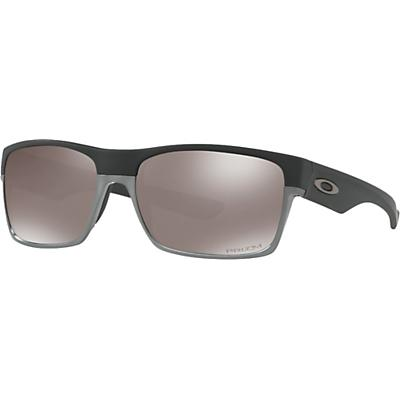 Oakley TwoFace Polarized Sunglasses - Matte Black / Prizm Black Polarized