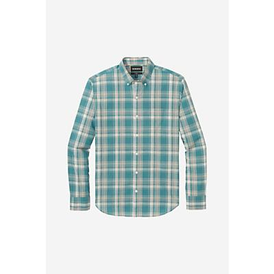 Bonobos Summerweight Shirt - Large Regular - Harbor Plaid West Coast - Men