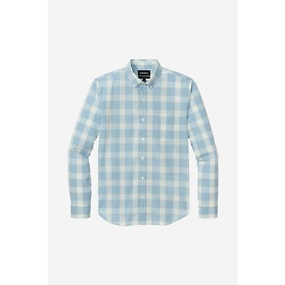 Bonobos Summerweight Shirt - Mule Plaid Steel Blue Hthr - Men