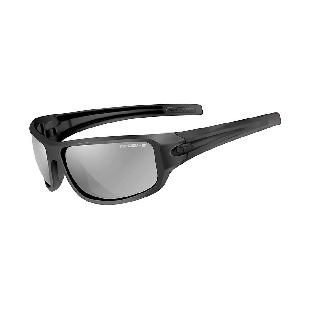 Tifosi Bronx Tactical Safety Polarized Sunglasses - One Size - Matte Black