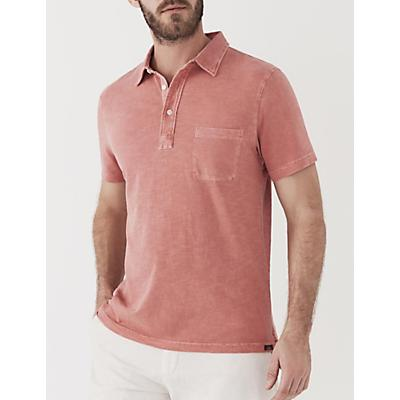 Faherty Sunwashed Polo Shirt - New Red
