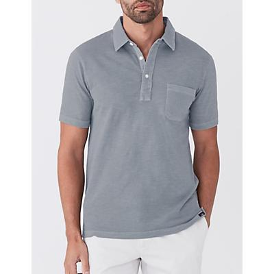 Faherty Sunwashed Polo Shirt - Storm Blue