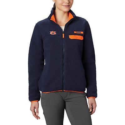 Columbia Collegiate Mountain Side Heavyweight Fleece Jacket - AUB - Collegiate Navy - Women
