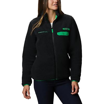 Columbia Collegiate Mountain Side Heavyweight Fleece Jacket - UO - Black - Women