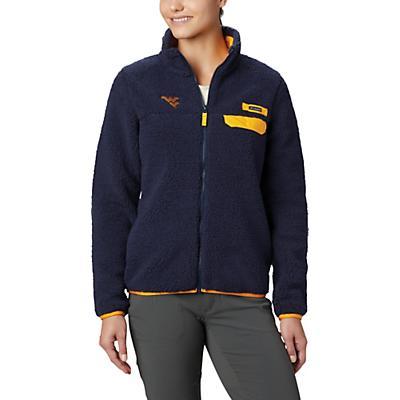 Columbia Collegiate Mountain Side Heavyweight Fleece Jacket - WV - Collegiate Navy - Women