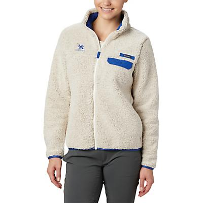 Columbia Collegiate Mountain Side Heavyweight Fleece Jacket - UK - Chalk / Azul - Women
