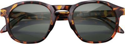 Sunski Foothills Sunglasses - One Size - Tortoise / Forest